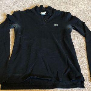Women's Lacoste long sleeved shirt